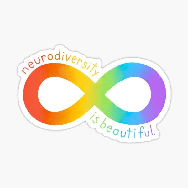 Neurodiversity is Beautiful Sticker