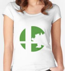 Bowser - Super Smash Bros. Women's Fitted Scoop T-Shirt