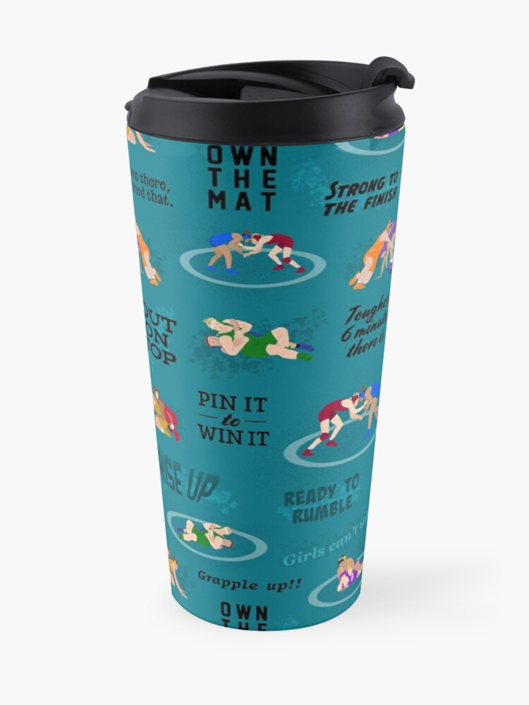 Alternate view of Girls can't what? Travel Mug