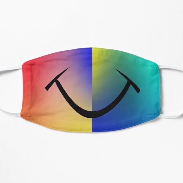 happy smile 3 Flat Mask