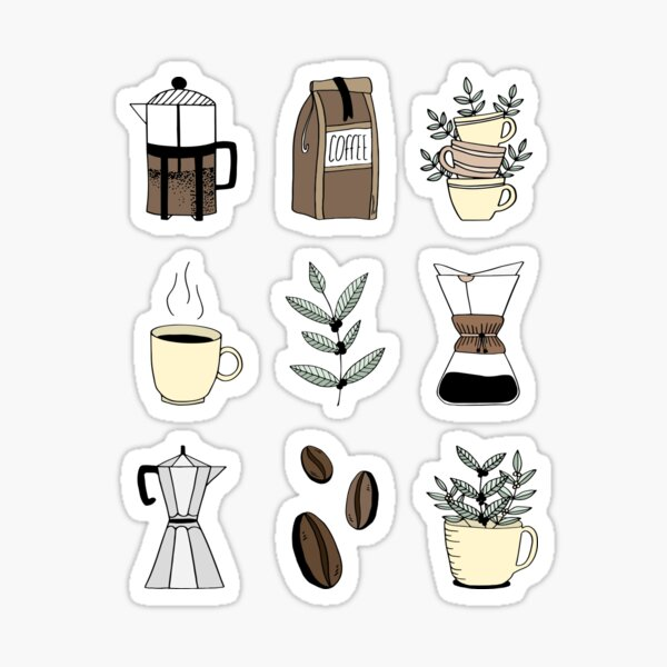 Coffee Time Sticker
