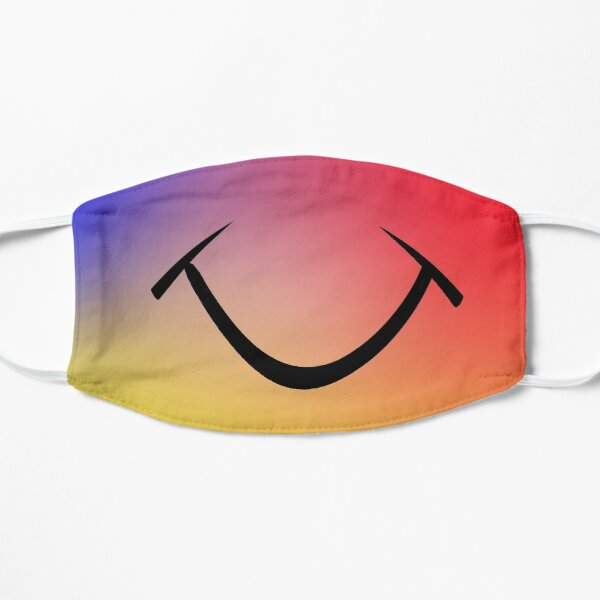 happy smile 4 Flat Mask