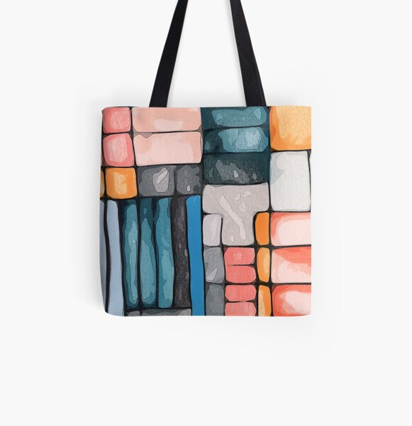 Bridgeport All Over Print Tote Bag