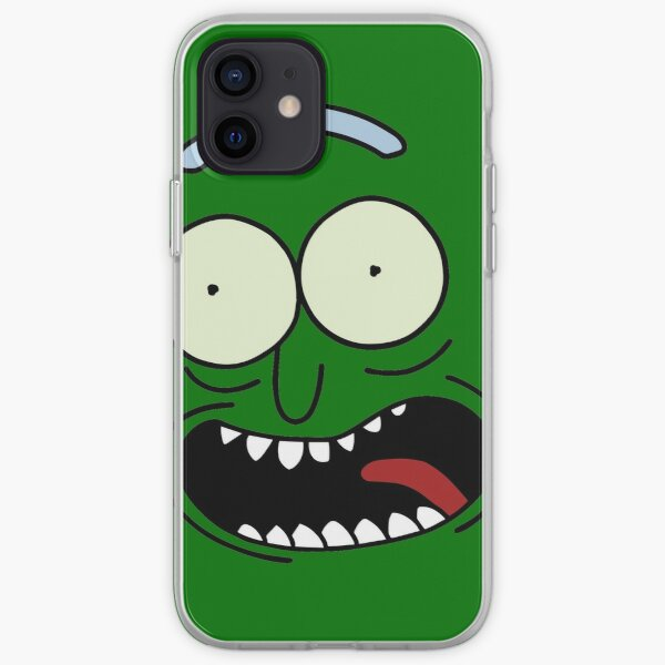Pickle Rick Face (Rick and Morty™) iPhone Soft Case