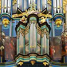 Pipe organ in Breda Cathedral by Jenny Setchell
