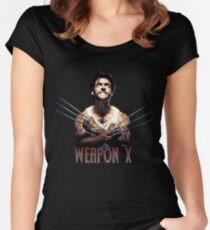 Wolverine - Weapon X Women's Fitted Scoop T-Shirt