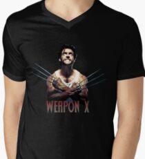 Wolverine - Weapon X Mens V-Neck T-Shirt