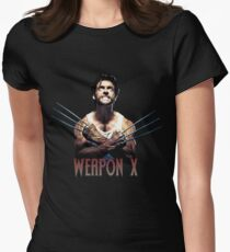 Wolverine - Weapon X Women's Fitted T-Shirt