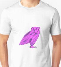 Owl I Ever Wanted-Purple Unisex T-Shirt