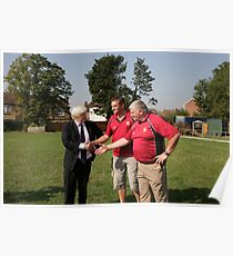 Boris Johnson officially opens streatham-croydon R.F.C. Poster