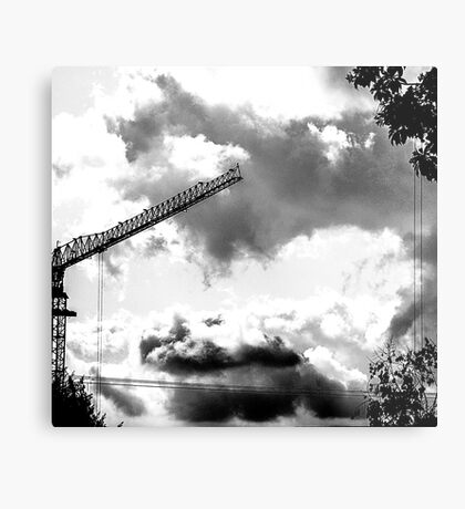 CLOUDS OVER THE PDC 2 Metal Print