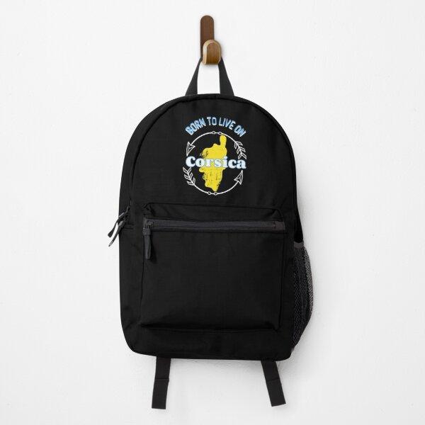 corsica saying poud summer Backpack