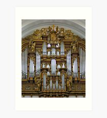 Fulda Cathedral organ Art Print