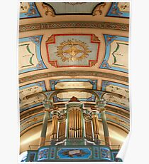 Canadian pipe organ Poster