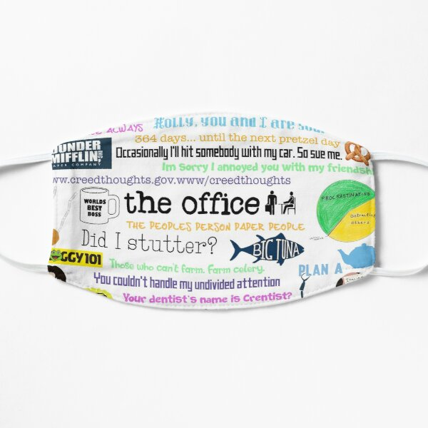 The office collage Mask