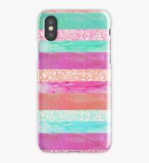 Tropical Stripes iPhone Case/Skin