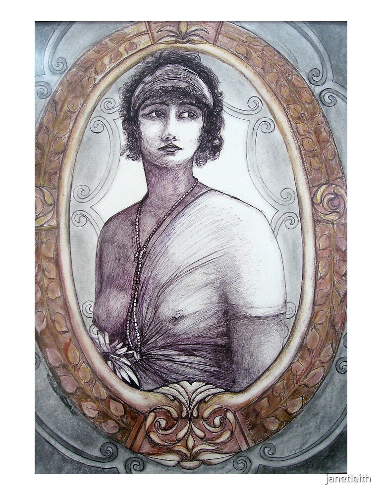 Framed Antiquity, 2009 by janetleith