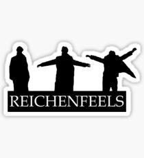Reichenfeels -Sherlock - Reichenbach fall  Sticker