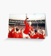 England 66' Greeting Card
