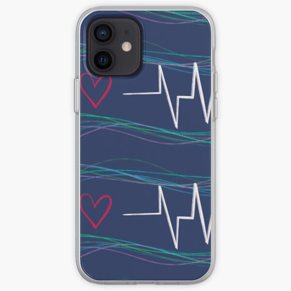 life of a heartbeat iPhone Soft Case