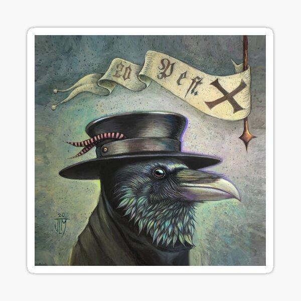 Plague Doctor Raven Sticker