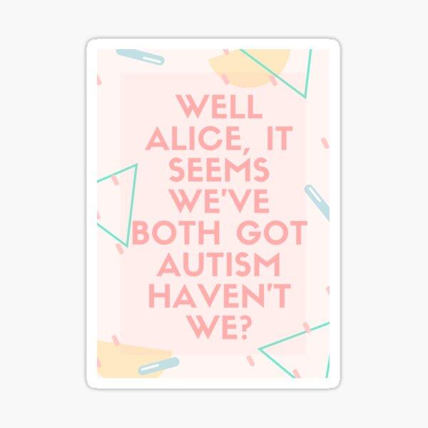 Alice undateables autism The Undateables