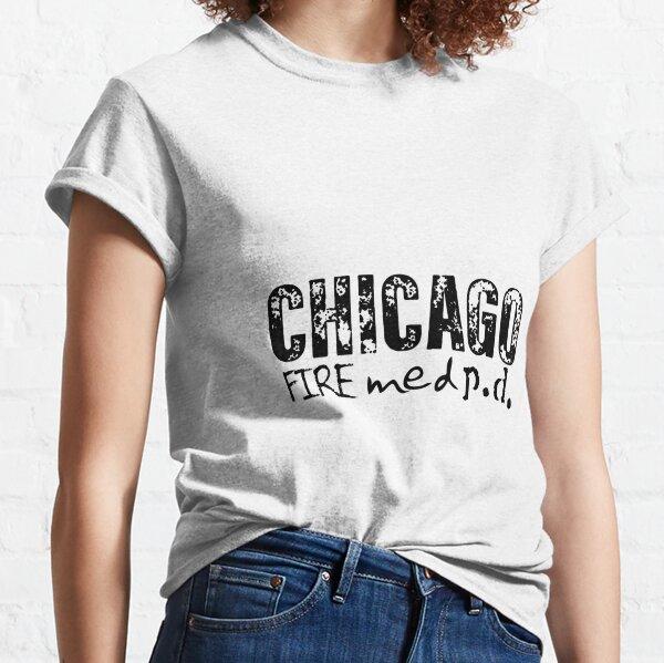 One Chicago - med, fuego, pd Camiseta clásica