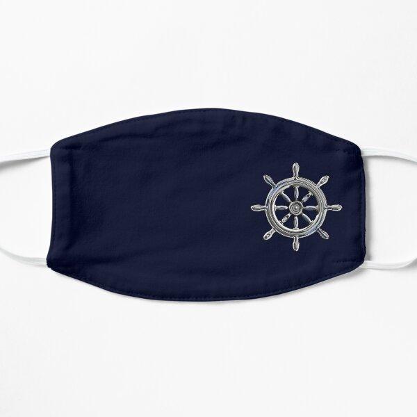 Chrome Style Nautical Wheel Applique Mask