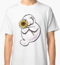 Sunny Manatee Classic T-Shirt