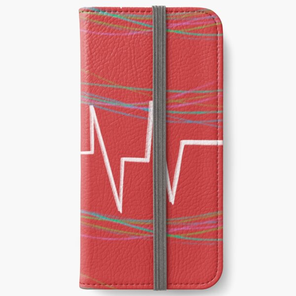 life of a heartbeat iPhone Wallet