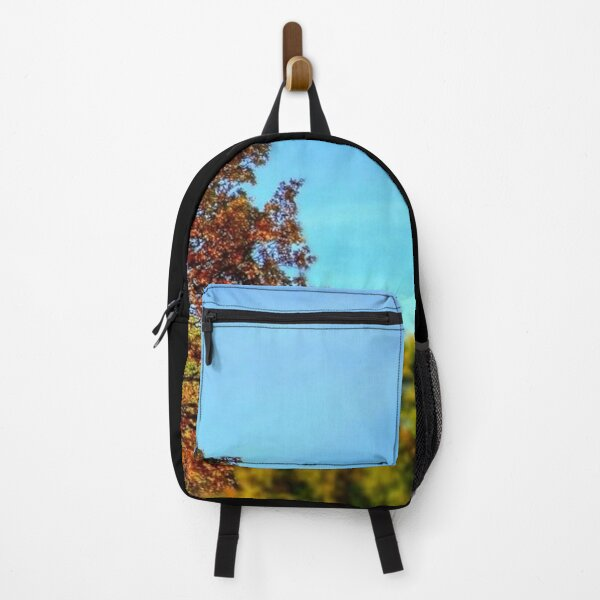 Autumn tree colorful autumn leaves photography Backpack