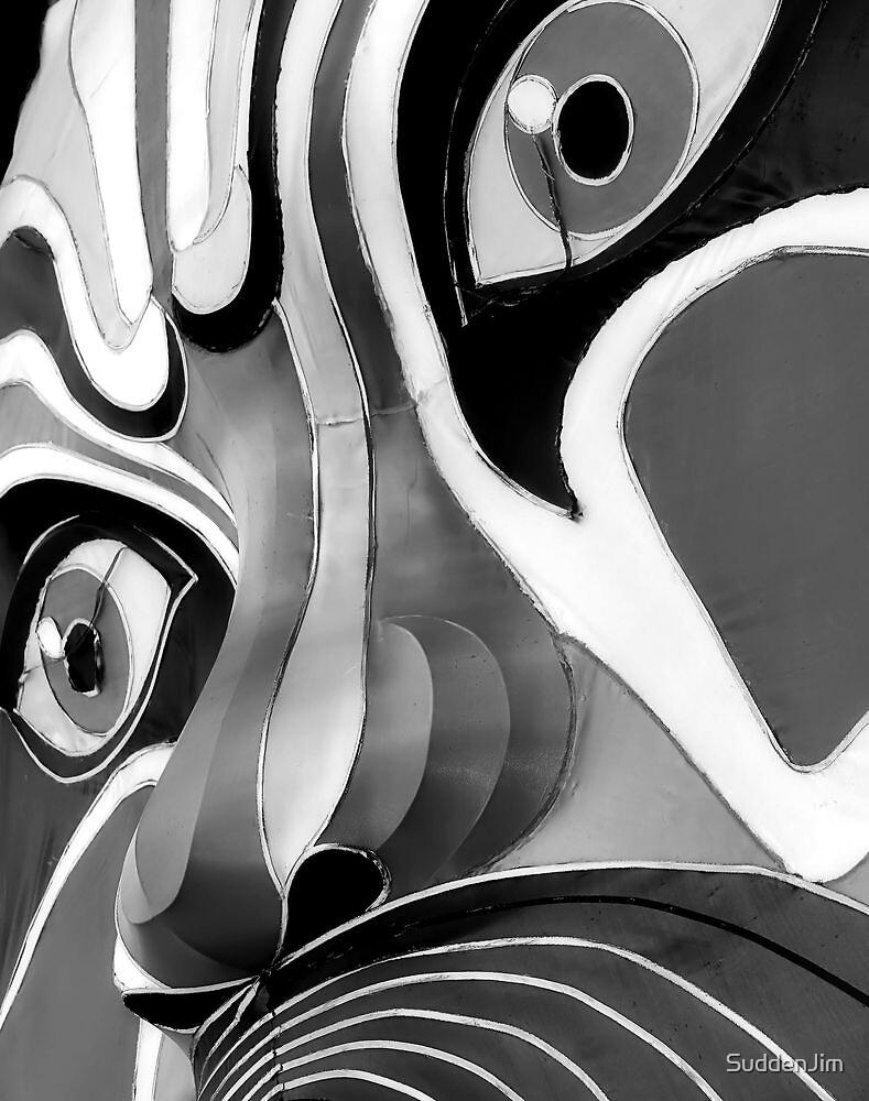 Chinese Opera Mask by SuddenJim