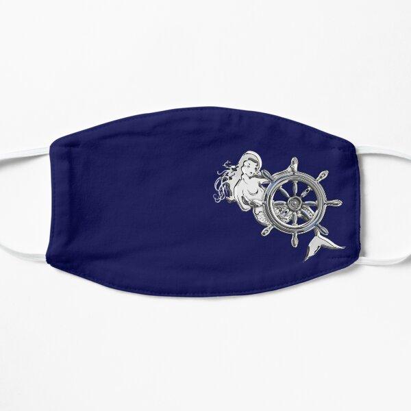 Chrome Style Nautical Mermaid Applique Mask