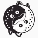 Ying Yang Fish by phobos