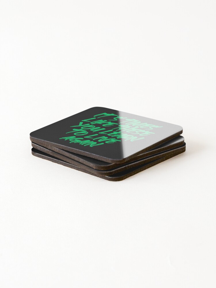 Alternate view of Times like these  Coasters (Set of 4)