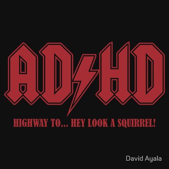 TShirtGifter presents: ADHD Highway to Hey! | Unisex T-Shirt