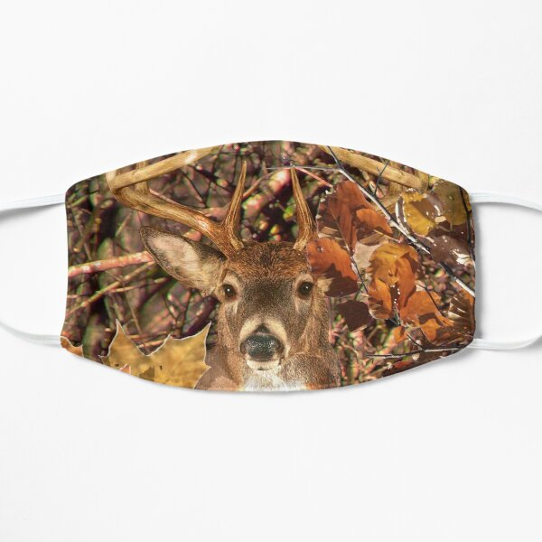 White Tail Buck in Fall Camo Mask