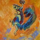 Air Squirrel by Ellen Marcus