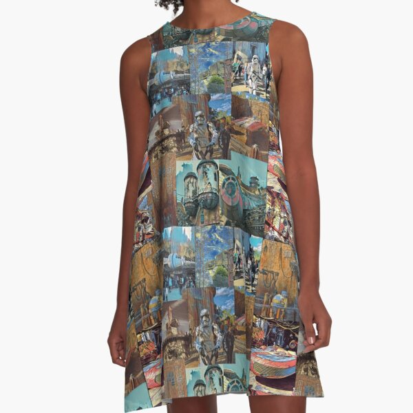 Dreaming of Star Wars A-Line Dress