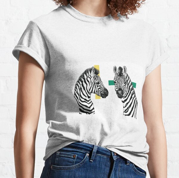 Zebra and Debra  Classic T-Shirt
