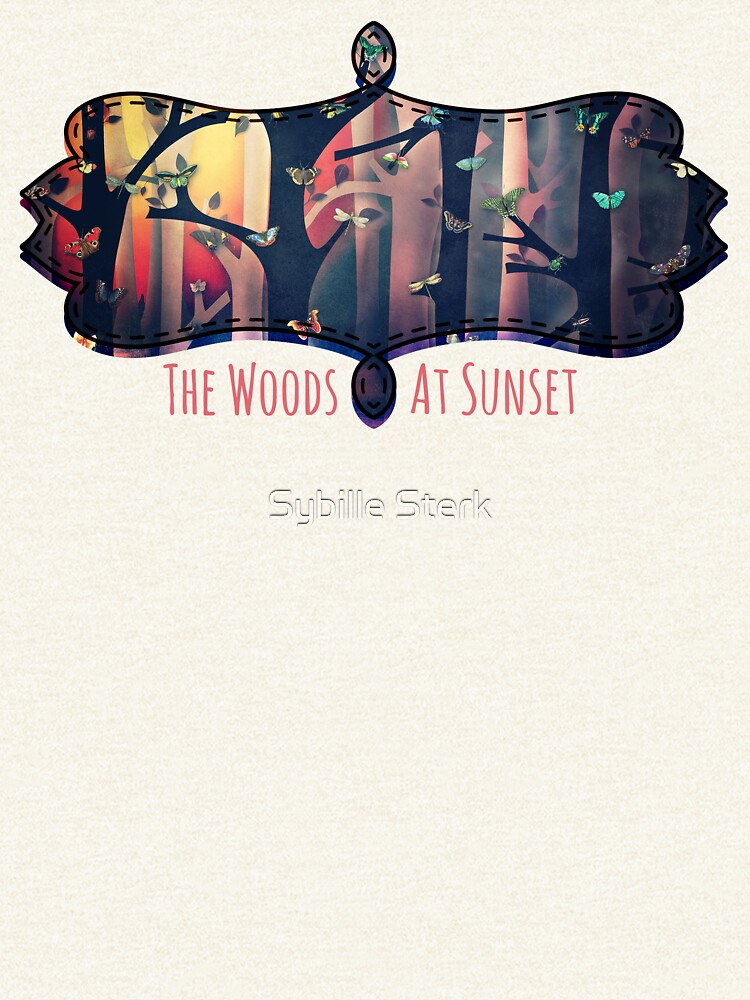 The Woods at Sunset by MagpieMagic
