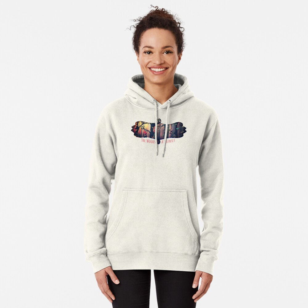 The Woods at Sunset Pullover Hoodie