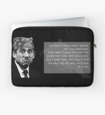 The Office - Prison Mike Laptop Sleeve