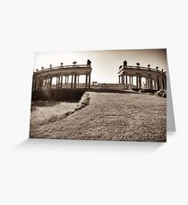 sans souci colonnade  Greeting Card