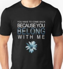More Than One of Everything - WhiteText Unisex T-Shirt