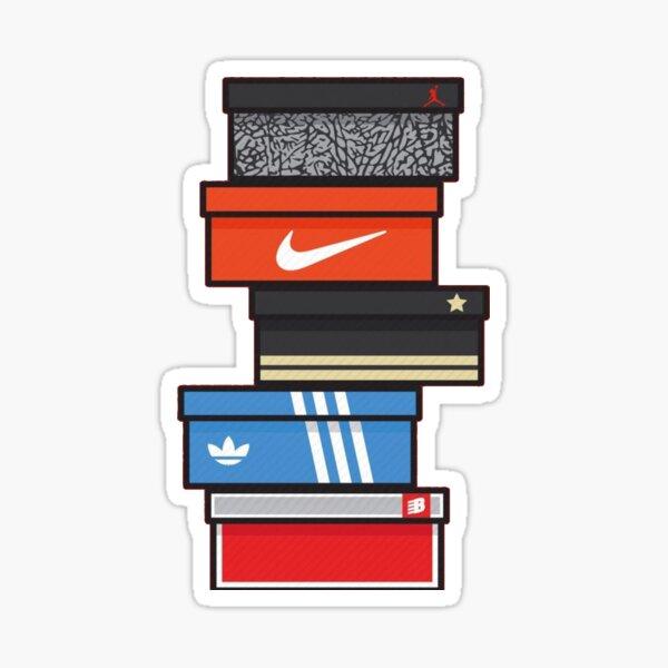 Shoe Box Stickers | Redbubble