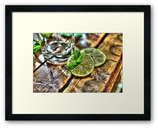 Mint and Lime by Jimmy Ostgard