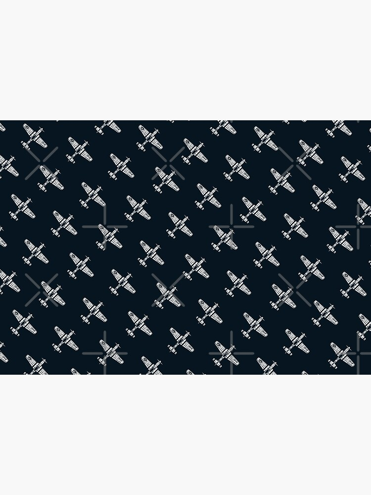 P-51 Mustang Pattern by 909Apparel