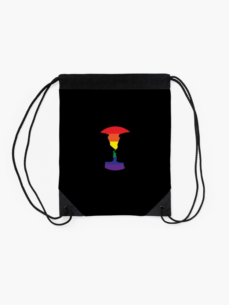 Alternate view of Love is love Drawstring Bag