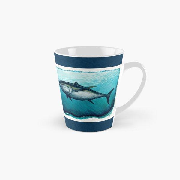 """Bluefin Tuna"" by Amber Marine ~ Watercolor painting, art © 2016 Tall Mug"